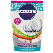 ECOZONE Tablety do myčky Brilliance 65ks