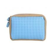 UPixel Bags - Ръчна чантичка Upixel 01 - бежово / светло синьо