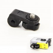Camera Bridge Adapter voor Gopro Mounts 1/4 inch Schroef Gat voor Sony Mini Cam Actie Camera HDR AS20 AS30V AS15V AS200V AS300