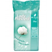 Corman Spa Lady Presteril Cotton Power Con Ali Assorbenti Stesi In Cotone 10 Pezzi