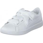 Puma Puma Vikky V2 Ribbon Core Puma White-puma Silver, Skor, Sneakers & Sportskor, Låga sneakers, Vit, Dam, 37