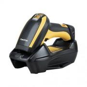 Datalogic PowerScan PBT9500 vonalkódolvasó, 2D, HD, DPM, Bluetooth, USB, bölcső, fekete/sárga