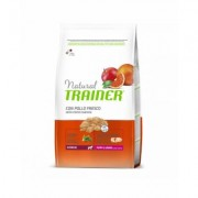 Natural Trainer Puppy & Junior Medium con Pollo Fresco 12 kg