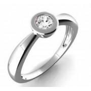 Zásnubní Prsten s diamantem, bílé zlato 3860178 Gems Vera