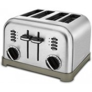 Cuisinart 3MFN2DKM535H 500 W Pop Up Toaster(Silver)