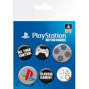 Playstation Classic Badge Pack