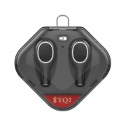 EY Auricular Inalámbrico Bluetooth Auriculares Deportivos TWS Auriculares Intrauditivos Auriculares Estéreo-Negro