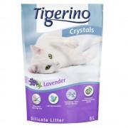 Tigerino Lettiera Tigerino Crystals Lavanda - Set risparmio: 3 x 5 l