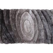 TEMPO KONDELA Kusový koberec VANJA, šedý vzor, 170x240 cm