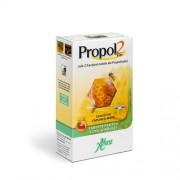 Propol2 Emf cu Gust de Capsuni si Miere pentru imunitate copii si adulti x 45 tablete Aboca