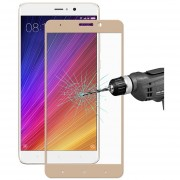 Enkay Para Xiaomi Mi 5S Plus Sombrero Príncipe 0.26mm 9h Dureza 2.5D Colorida Pantalla Completa A Prueba De Explosion Tempered Glass Screen Film (oro)