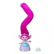 Trolls, Figurina Poppy cu parul foarte lung