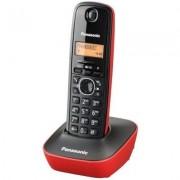 Panasonic Telefon KX-TG1611PDR Czarno-czerwony