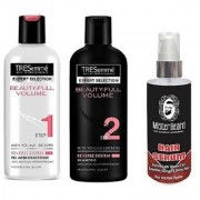 MISTER BEARD HAIR SERUM WITH TRESEMME BEAUTY FULL SHAMPOO CONDITIONER