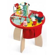 Janod Zabawka edukacyjna Janod Stolik edukacyjny duży drewniany Baby Forest J08018