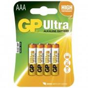 Blister 4 Batterie GP Ultra Alcaline Ministilo AAA 24AU/LR03