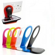 1 Pc Mobile Charging Stand (Assorted Colors) ( Pack of 10 )
