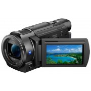 Sony »FDR-AX33« Camcorder (4K Ultra HD, WLAN (Wi-Fi), NFC, 10x opt. Zoom, My Voice Cancelling, CinemaTone, Golf Shot, Aufnahmeautomatik, Smile Shutter, fließende Zeitlupe)