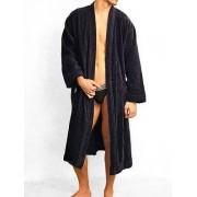 Hom Мужской мягкий махровый халат в стиле японского кимано HOM Kelso 04249cB9