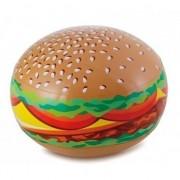 Merkloos Opblaadbare hamburger 61 cm waterspeelgoed