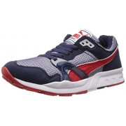 Puma Men's Puma Trinomic XT 1 PLUS Peacoat-High Risk Red Running Shoes - 8 UK/India (42 EU)
