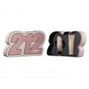 Kit de Perfume para Dama Carolina Herrera 212 VIP ROSÉ 20 ml Eau De Parfum