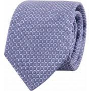 Profuomo Krawatte Kariert Blau - Blau