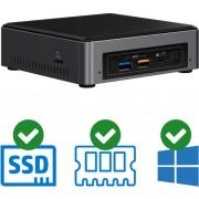 Intel NUC Compleet PC Intel Core i3 / 8109U 4 GB DDR4 120 GB SSD 1x HDMI Windows 10 Pro