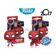 Set Llaveros Spider-man Homecoming Funko Pop Spiderman Pelicula