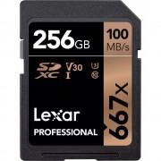 Lexar SDXC Professional 667X 256GB UHS-I U3 V30,100MB/s