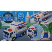 City Truck Műanyag teherautó gyerek játék Police Car - No.8955