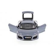 Audi R8, Metallic Blue - Maisto 34281 - 1/24 Scale Diecast Model Toy Car