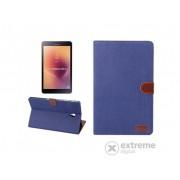 "Husa piele artificiala standing Gigapack pentru Samsung Galaxy Tab A SM-T595 LTE 2018 (10,5""), albastru"