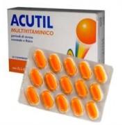 Acutil Multivitaminico Linea Classic Integratore Alimentare 30 Compresse