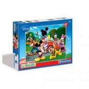 Puzzle Mickey Mouse si prietenii in excursie 100 pcs Clementoni