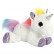 Peluche de unicornio multicolor