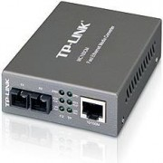 TP-Link MC100CM, 10 100Mbps Multi-Mode Fiber Media Converter, 1x 100M RJ45 port (Auto MDI MDIX) to 1x 100M SC port, 1310nm, Extends fiber distance up to 2km