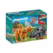 Cercetator - Automobil Si Triceratops Playmobil