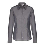 Seidensticker Modern Fit Bluse graphit, Einfarbig
