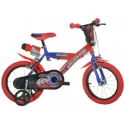 BICICLETA COPII 14 '' SPIDERMAN - DINO BIKES (143G-SA)