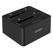 Orico 2 Bay 2.5 / 3.5 USB3.0 HDD SSD Dock - Black