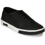 Style Shoe Men's Artificial Leather Black Exquisite Casual Sport Shoe Shoes
