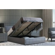 Doodle Products From £139 instead of £249.99 (from Bedsstar) for a grey linen ottoman bed frame with lift-up storage, or £209 to include a memory foam mattress - save up to 44%