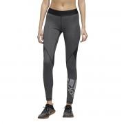 Adidas Performance Leggings Alphaskin badge of sport climacoolPreto- L