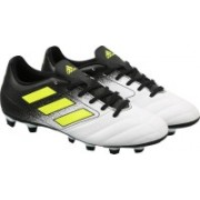 Adidas ACE 17.4 FXG Football Shoes(White)