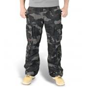 Herren Hose SURPLUS - Airborne Vintage Trousers - Black Camo - 05-3598-42