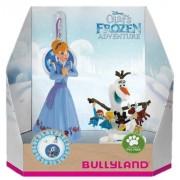 Set Anna+Olaf cu medalion - Olafs Frozen Adventure