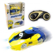 6th Dimensions Wall Climber Car For Kids (Yellow)