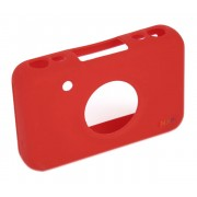 Focus Polaroid Snap & Snap Touch Silikonhölje - Röd
