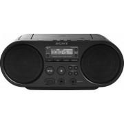 Microsistem audio Sony ZSPS50, CD Player, tuner FM, USB, Negru